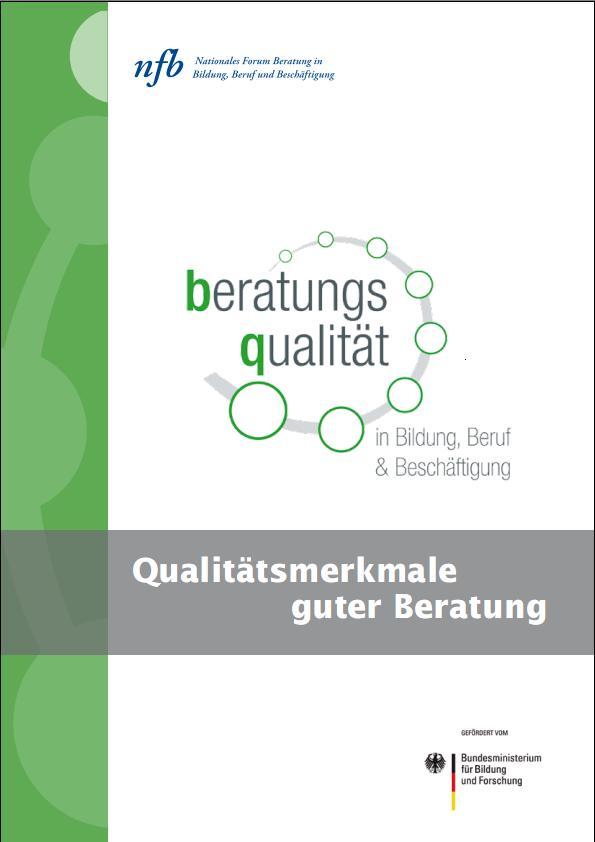 Cover Broschüre QMM guter Beratung