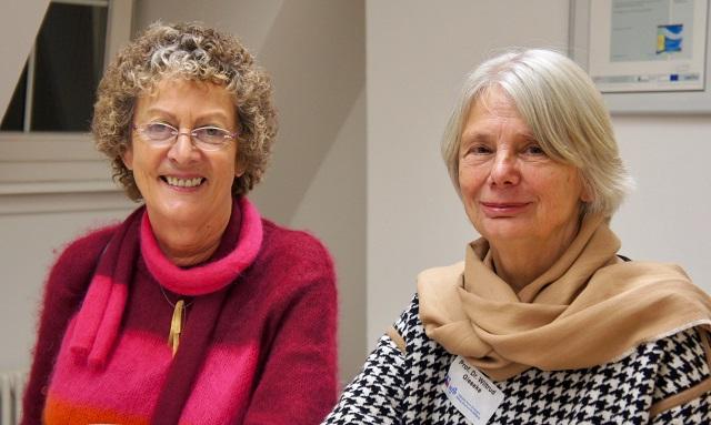 Sie haben sich um Beratungsqualität verdient gemacht (v. links): Die Forscherinnen Prof. Dr. Christiane Schiersmann und Prof. Dr. Wiltrud Gieseke