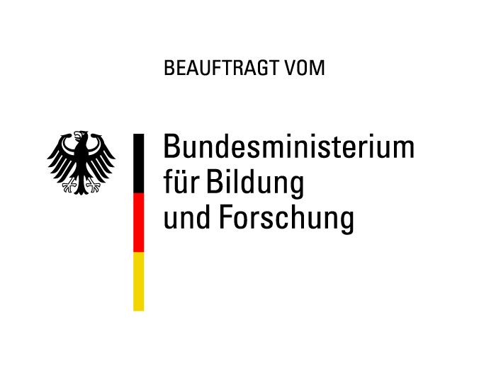 Logo beauftragt vom BMBF